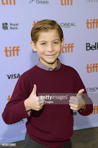 Actor Jacob Tremblay attends the 'Burn Your Maps' premiere during the 2016 Toronto International Film Festival at Ryerson Theatre on September 15...