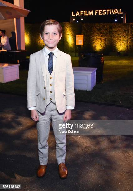Actor Jacob Tremblay attends the Opening Night Party during the 2017 Los Angeles Film Festival at Culver Studios on June 14 2017 in Culver City...