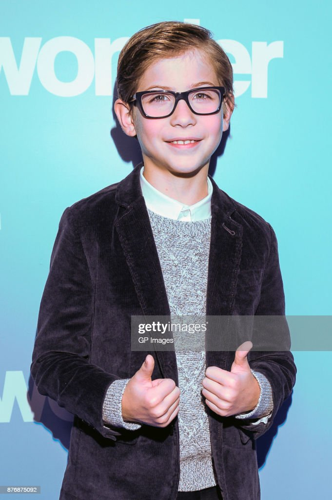"Jacob Tremblay Hosts Screening Of ""Wonder"" At SickKids"