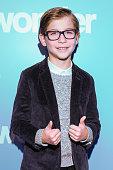 "Jacob Tremblay Hosts Screening Of ""Wonder"" At SickKids"