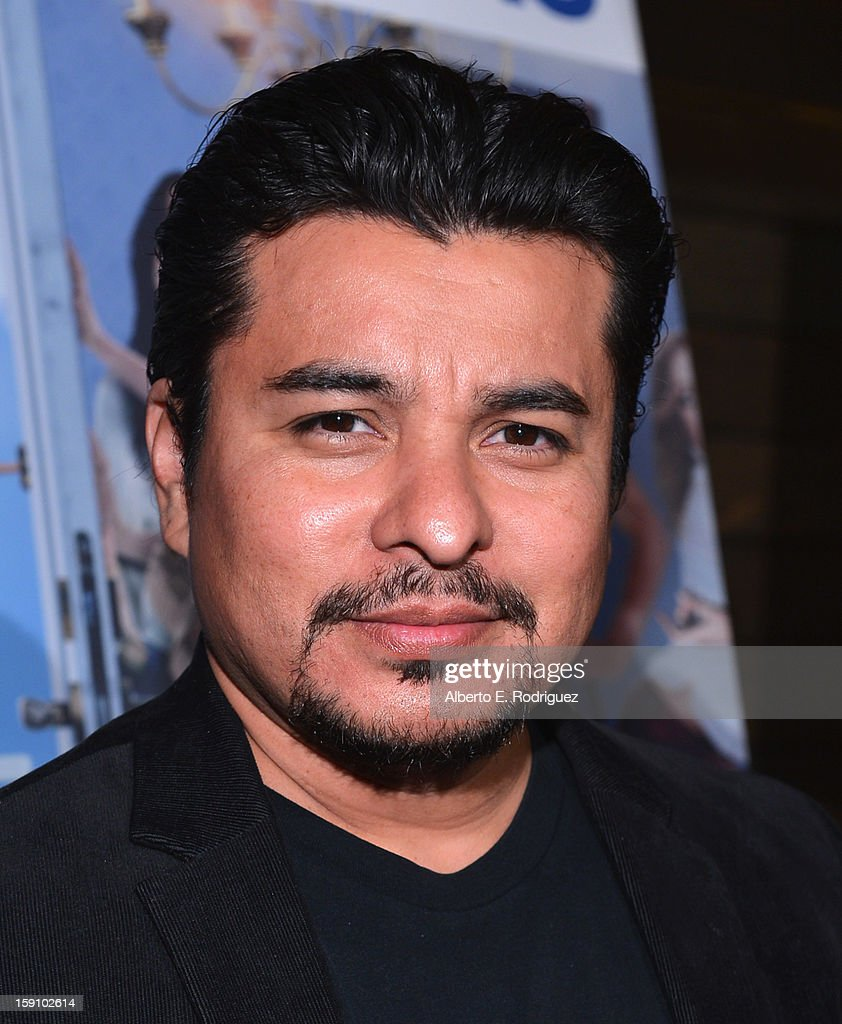 Actor Jacob Vargas arrives to the premiere of Salient Media's 'Freeloaders' at Sundance Cinema on January 7, 2013 in Los Angeles, California.