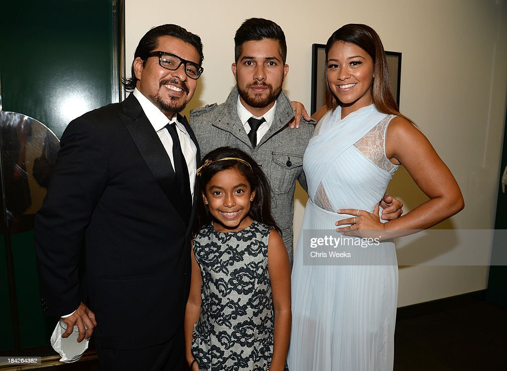 Actor <a gi-track='captionPersonalityLinkClicked' href=/galleries/search?phrase=Jacob+Vargas&family=editorial&specificpeople=2180086 ng-click='$event.stopPropagation()'>Jacob Vargas</a>, Walter Perez and host <a gi-track='captionPersonalityLinkClicked' href=/galleries/search?phrase=Gina+Rodriguez+-+Actress+-+Born+1985&family=editorial&specificpeople=11423747 ng-click='$event.stopPropagation()'>Gina Rodriguez</a> attends the '2013 Latinos de Hoy Awards' Sponsored by OneLegacy on Saturday, October 12 at Los Angeles Times Chandler Auditorium in Los Angeles, California.