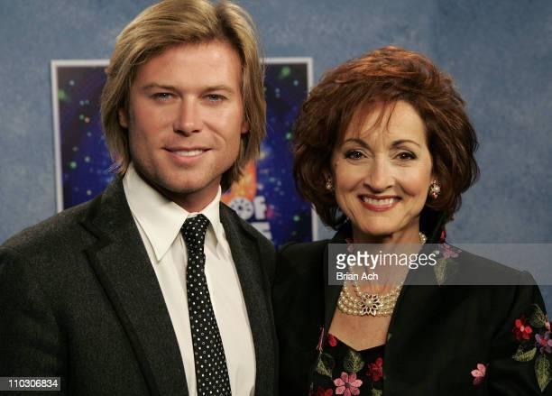 Actor Jacob Young and actress Robin Strasser at the taping of the 'Wheel of Fortune' 25th Anniversary People Magazine Celebrity Week on September 29...