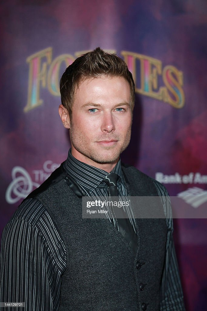 Actor Jacob Young arrives for the opening night performance of 'Follies' at Center Theatre Group/Ahmanson Theatre on May 9, 2012 in Los Angeles, California.