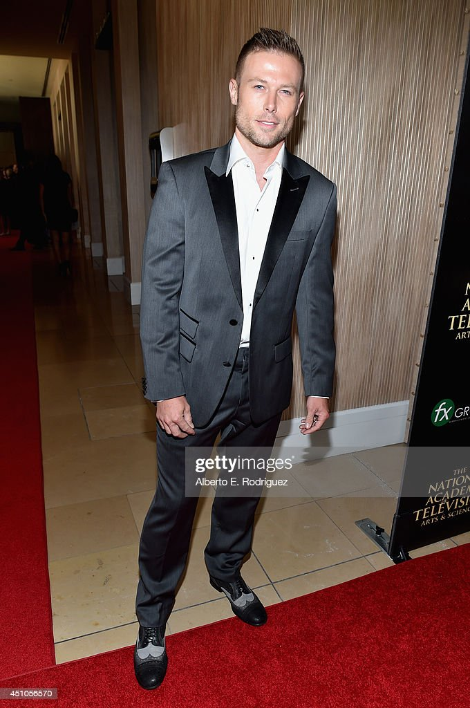 Actor <a gi-track='captionPersonalityLinkClicked' href=/galleries/search?phrase=Jacob+Young&family=editorial&specificpeople=663641 ng-click='$event.stopPropagation()'>Jacob Young</a> attends The 41st Annual Daytime Emmy Awards at The Beverly Hilton Hotel on June 22, 2014 in Beverly Hills, California.