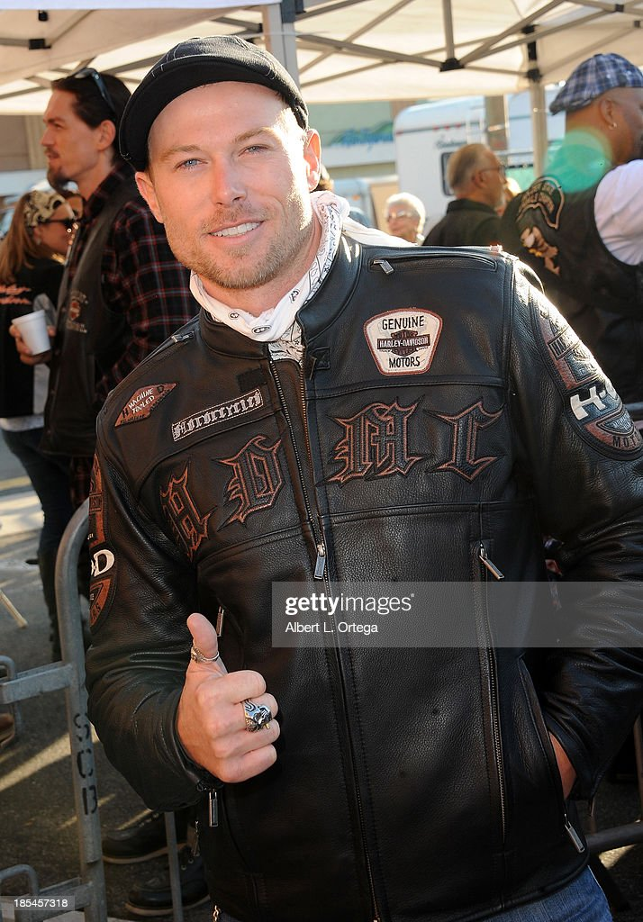 Actor <a gi-track='captionPersonalityLinkClicked' href=/galleries/search?phrase=Jacob+Young&family=editorial&specificpeople=663641 ng-click='$event.stopPropagation()'>Jacob Young</a> participates in the 30th Anniversary Love Ride held at Glendale Harley-Davidson on October 20, 2013 in Glendale, California.
