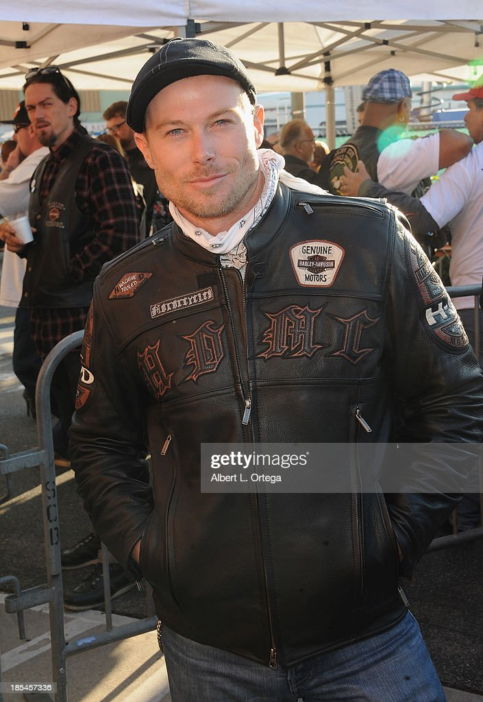 Actor Jacob Young participates in the 30th Anniversary Love Ride held at Glendale Harley-Davidson on October 20, 2013 in Glendale, California.