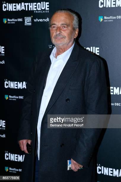 Actor Jacques Nolot attends the 'Un beau soleil interieur' Paris Premiere at La Cinematheque on September 25 2017 in Paris France