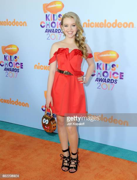 Actor Jade Pettyjohn at Nickelodeon's 2017 Kids' Choice Awards at USC Galen Center on March 11 2017 in Los Angeles California