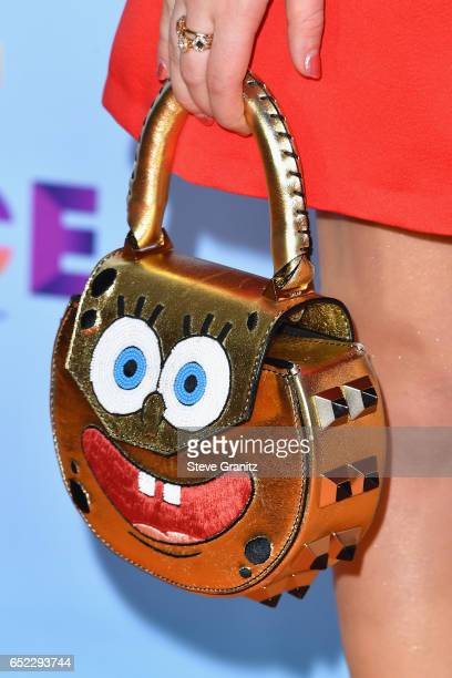 Actor Jade Pettyjohn purse detail at Nickelodeon's 2017 Kids' Choice Awards at USC Galen Center on March 11 2017 in Los Angeles California