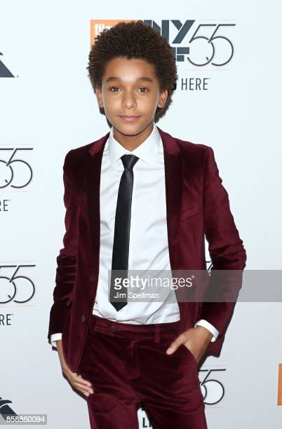 Actor Jaden Michael attends the 55th New York Film Festival 'Wonderstruck' premiere at Alice Tully Hall on October 7 2017 in New York City