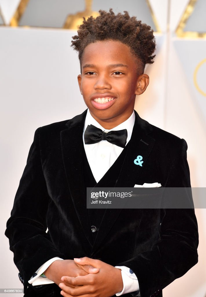 Actor Jaden Piner attends the 89th Annual Academy Awards at Hollywood & Highland Center on February 26, 2017 in Hollywood, California.