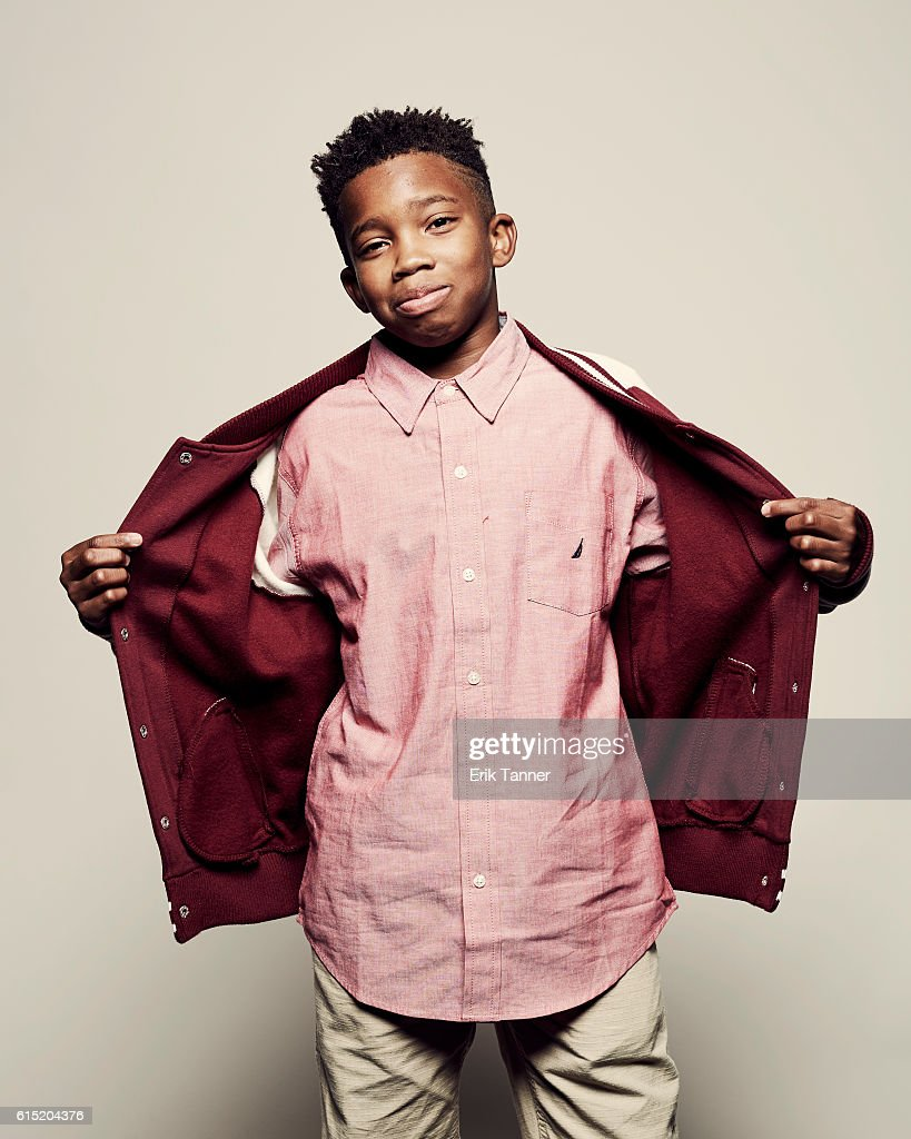 Actor Jaden Piner poses for a portrait during the 54th New York Film Festival at Lincoln Center on October 2, 2016 in New York City.