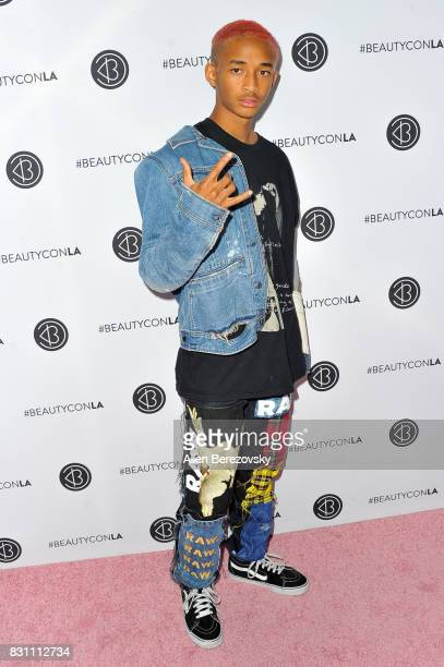 Actor Jaden Smith attends the 5th Annual Beautycon Festival Los Angeles at Los Angeles Convention Center on August 13 2017 in Los Angeles California