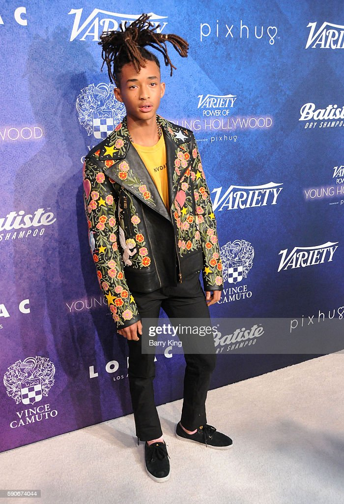 Actor Jaden Smith attends Variety's Power of Young Hollywood event, presented by Pixhug, with Platinum Sponsor Vince Camuto at NeueHouse Hollywood on August 16, 2016 in Los Angeles, California.