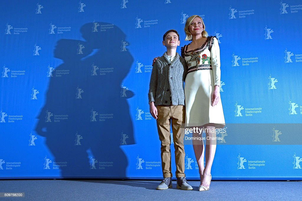Actor <a gi-track='captionPersonalityLinkClicked' href=/galleries/search?phrase=Jaeden+Lieberher&family=editorial&specificpeople=11117189 ng-click='$event.stopPropagation()'>Jaeden Lieberher</a> and actress <a gi-track='captionPersonalityLinkClicked' href=/galleries/search?phrase=Kirsten+Dunst&family=editorial&specificpeople=171590 ng-click='$event.stopPropagation()'>Kirsten Dunst</a> attend the 'Midnight Special' photo call during the 66th Berlinale International Film Festival Berlin at Grand Hyatt Hotel on February 12, 2016 in Berlin, Germany.
