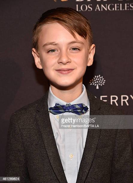 Actor Jaeden Lieberher attends the BAFTA Los Angeles Tea Party at The Four Seasons Hotel Los Angeles At Beverly Hills on January 10 2015 in Beverly...