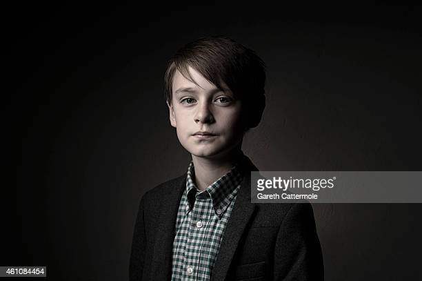 Actor Jaeden Lieberher is photographed at the 11th Annual Dubai International Film Festival held at the Madinat Jumeriah Complex on December 17 2014...