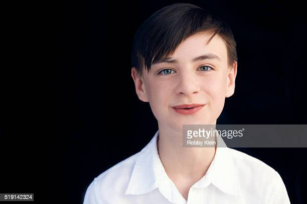 Actor Jaeden Lieberher is photographed for The Wrap on March 13 2016 in Austin Texas