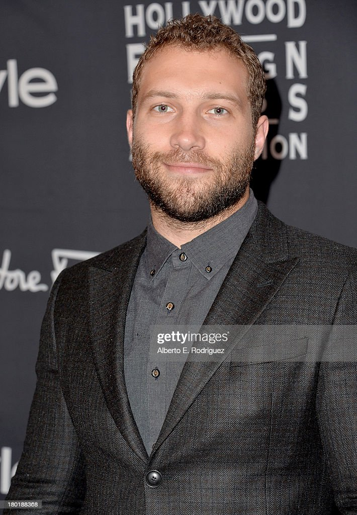Actor <a gi-track='captionPersonalityLinkClicked' href=/galleries/search?phrase=Jai+Courtney&family=editorial&specificpeople=6723038 ng-click='$event.stopPropagation()'>Jai Courtney</a> arrives at the TIFF HFPA / InStyle Party during the 2013 Toronto International Film Festival at Windsor Arms Hotel on September 9, 2013 in Toronto, Canada.