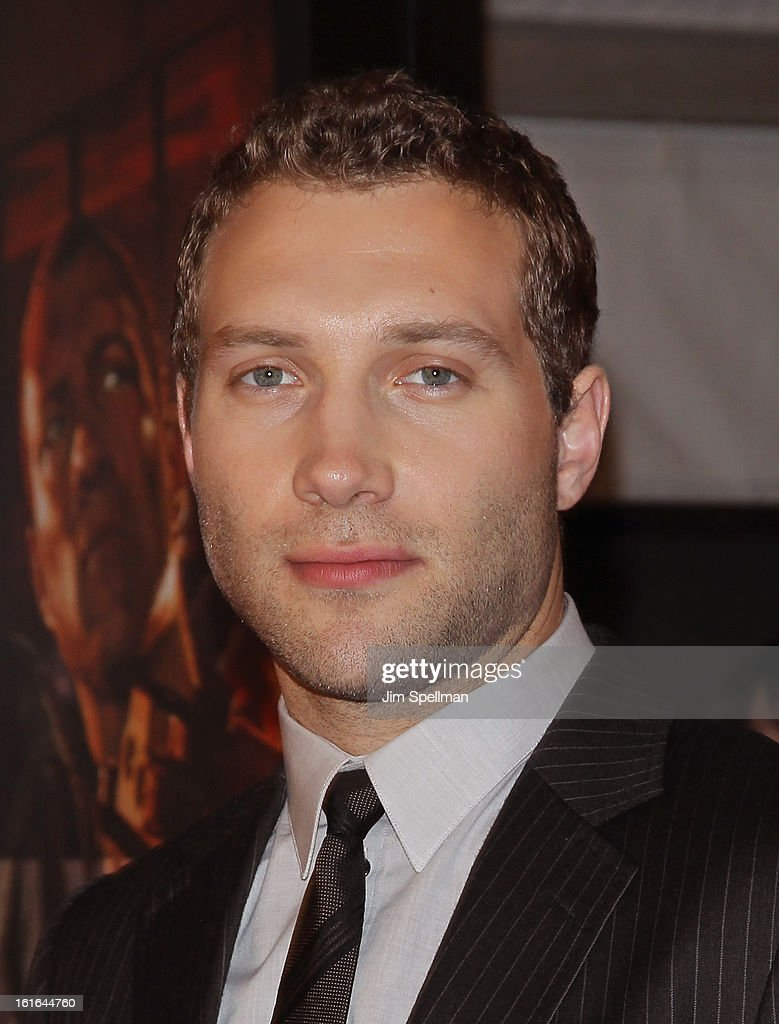 Actor <a gi-track='captionPersonalityLinkClicked' href=/galleries/search?phrase=Jai+Courtney&family=editorial&specificpeople=6723038 ng-click='$event.stopPropagation()'>Jai Courtney</a> attends the 'A Good Day To Die Hard' Fan Celebration at AMC Empire on February 13, 2013 in New York City.