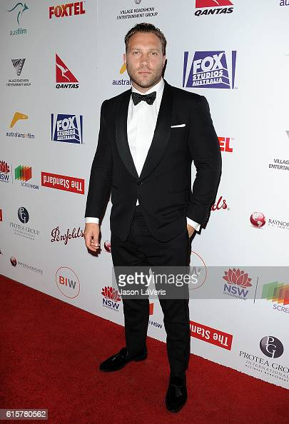 Actor Jai Courtney attends the Australians In Film 5th annual awards gala on October 19 2016 in Los Angeles California