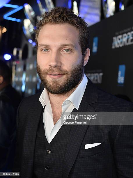 Actor Jai Courtney attends 'The Divergent Series Insurgent' Canadian Premiere held at Scotiabank Theatre on March 17 2015 in Toronto Canada