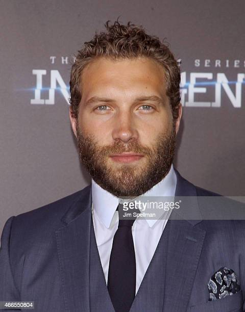 Actor Jai Courtney attends the 'The Divergent Series Insurgent' New York premiere at Ziegfeld Theater on March 16 2015 in New York City