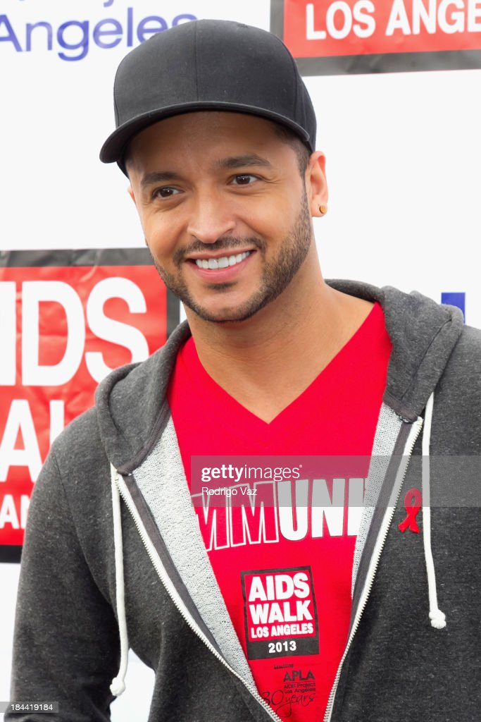 Actor <a gi-track='captionPersonalityLinkClicked' href=/galleries/search?phrase=Jai+Rodriguez+-+Actor&family=editorial&specificpeople=202956 ng-click='$event.stopPropagation()'>Jai Rodriguez</a> attends the 29th Annual AIDS Walk LA on October 13, 2013 in West Hollywood, California.