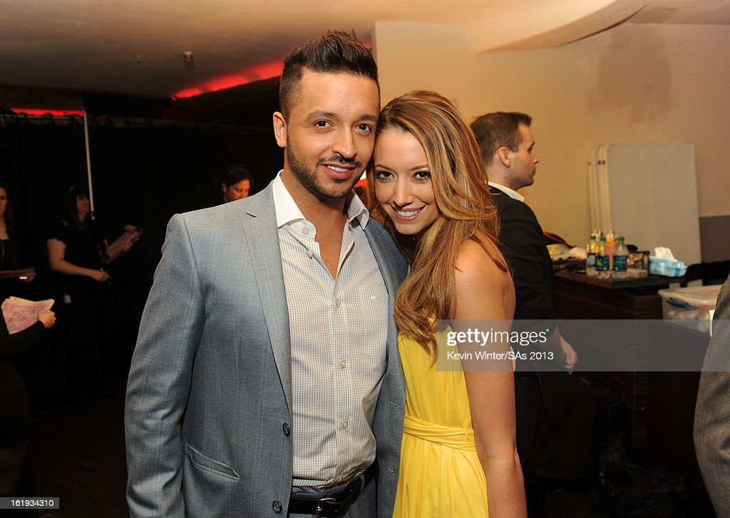 Actor Jai Rodriguez (L) attends the 3rd Annual Streamy Awards at Hollywood Palladium on February 17, 2013 in Hollywood, California.