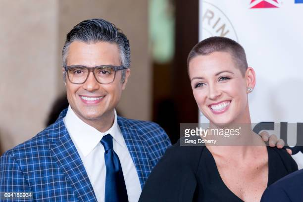 Actor Jaime Camil and Kara Allen Soldati attend the 14th Annual Brass Ring Awards Dinner at The Beverly Hilton Hotel on June 8 2017 in Beverly Hills...