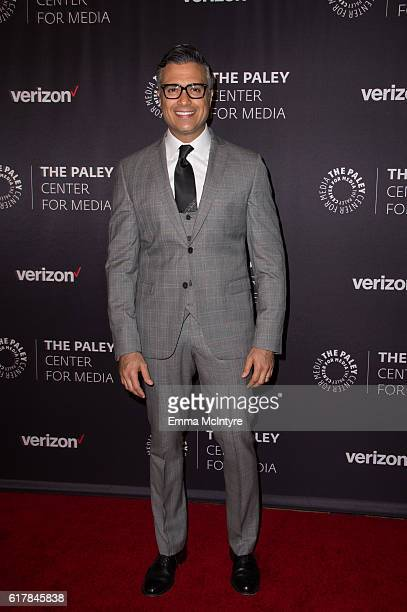 Actor Jaime Camil arrives at The Paley Center for Media's Hollywood Tribute to Hispanic Achievements in Television event at the Beverly Wilshire Four...
