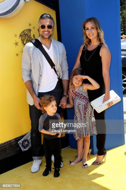 Actor Jaime Camil Heidi Balvanera Jaime Camil III and Elena Camil attend the premiere of Universal Pictures and Illumination Entertainment's...