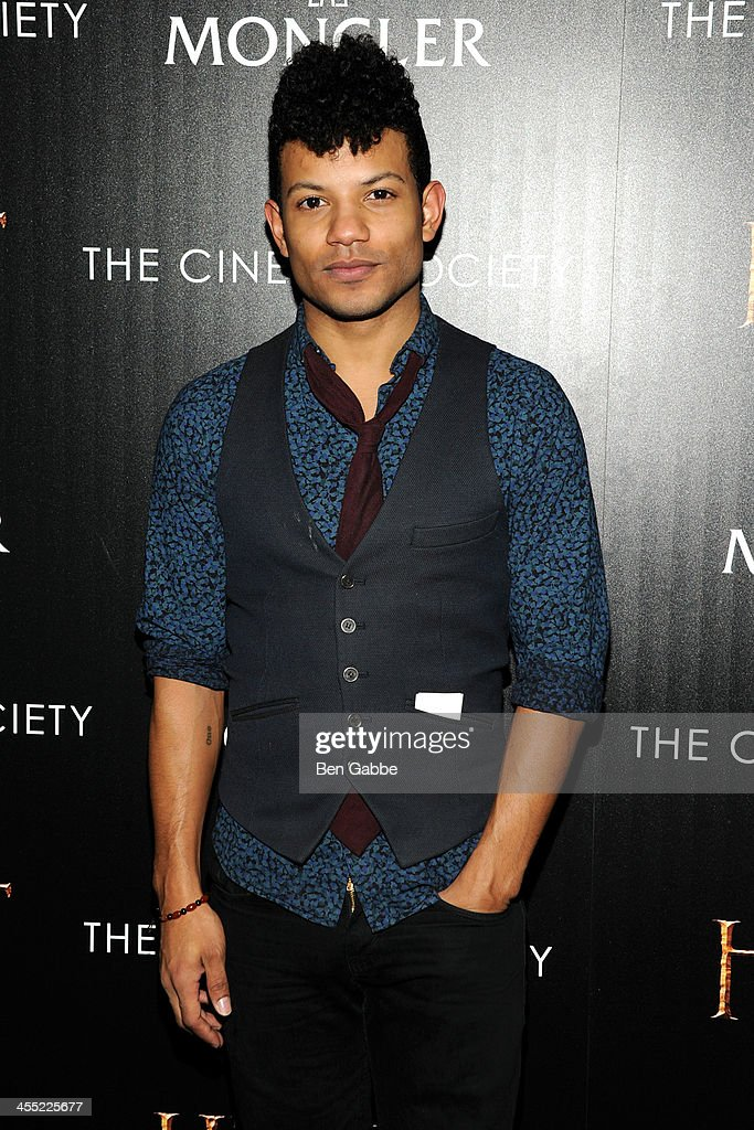 Actor Jaime Cepero attends The Cinema Society & Moncler host a screening of New Line Cinema & MGM Pictures' 'The Hobbit: The Desolation of Smaug' at Time Warner Screening Room on December 11, 2013 in New York City.