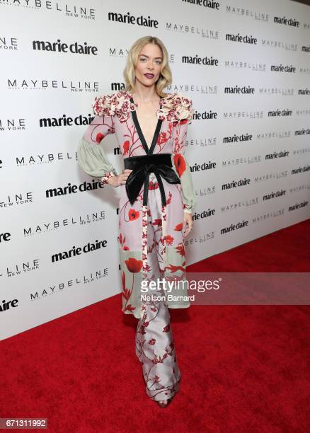 Actor Jaime King attends Marie Claire's 'Fresh Faces' celebration with an event sponsored by Maybelline at Doheny Room on April 21 2017 in West...