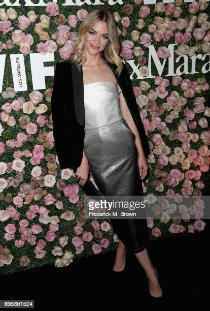 Actor Jaime King attends Max Mara Celebration of Zoey Deutch as The 2017 Women In Film Max Mara Face of The Future Award Recipient at Chateau Marmont...