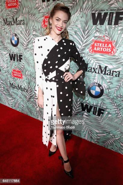 Actor Jaime King attends the tenth annual Women in Film PreOscar Cocktail Party presented by Max Mara and BMW at Nightingale Plaza on February 24...
