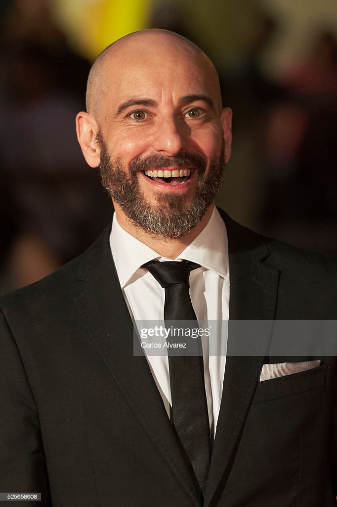 Actor Jaime Ordonez attends 'La Ultima Piel' premiere at the Cervantes Teather during the 19th Malaga Film Festival on April 28, 2016 in Malaga, Spain.