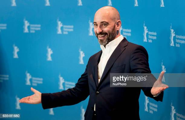 Actor Jaime Ordonez attends the 'The Bar' press conference during the 67th Berlinale International Film Festival Berlin at Grand Hyatt Hotel on...