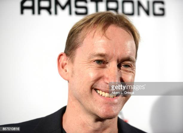Actor Jak Wyld arrives for the Premiere Of Screen Media Films' 'Armstrong' held at Laemmle's Music Hall Theatre on October 2 2017 in Beverly Hills...