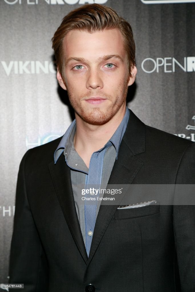Actor Jake Abel attends The Cinema Society & Jaeger-LeCoultre Host A Screening Of Open Road Films' 'The Host' at the Tribeca Grand Hotel - Screening Room on March 27, 2013 in New York City.