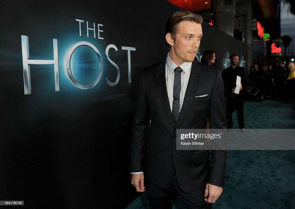 Actor Jake Abel attends the premiere of Open Road Films 'The Host' at ArcLight Cinemas Cinerama Dome on March 19, 2013 in Hollywood, California.