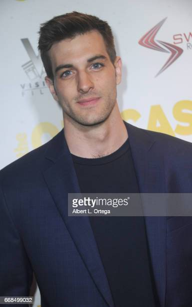 Actor Jake Allyn arrives for the Premiere Of Swen Group's 'The Outcasts' held at Landmark Regent on April 13 2017 in Los Angeles California