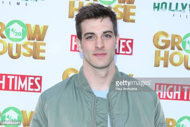Actor Jake Allyn attends the premiere of 'Grow House' at The Regency Bruin Theatre on April 17 2017 in Los Angeles California