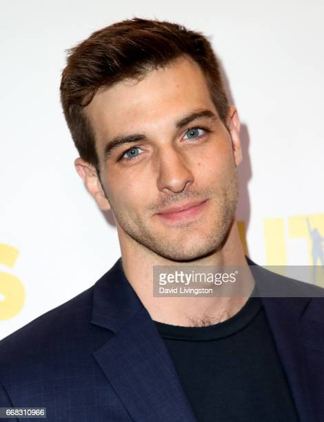 Actor Jake Allyn attends the premiere of Swen Group's 'The Outcasts' at Landmark Regent on April 13 2017 in Los Angeles California