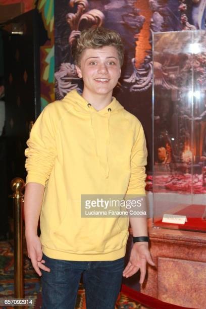 Actor Jake Brennan attends Red Walk special screening of Disney's 'Beauty And The Beast' at El Capitan Theatre on March 23 2017 in Los Angeles...