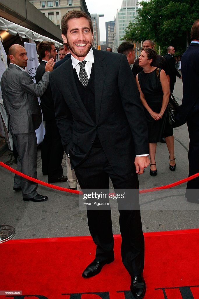 Actor Jake Gyllenhaal arrives at the 'Rendition' World Premiere screening during the Toronto International Film Festival 2007 held at the Roy Thomson Hall on September 7, 2007 in Toronto, Canada.