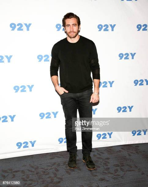 Actor Jake Gyllenhaal attends 92Y Presents Jake Gyllenhaal In Conversation at 92nd Street Y on November 19 2017 in New York City
