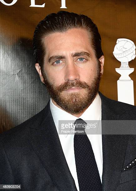 Actor Jake Gyllenhaal attends HFPA Annual Grants Banquet at the Beverly Wilshire Four Seasons Hotel on August 13 2015 in Beverly Hills California
