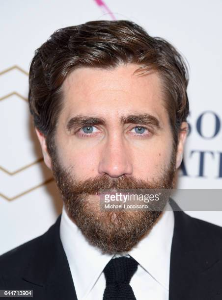 Actor Jake Gyllenhaal attends 'Sunday In The Park With George' Broadway opening night after party at New York Public Library on February 23 2017 in...